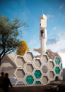 Renovation Concept for Qods Mosque